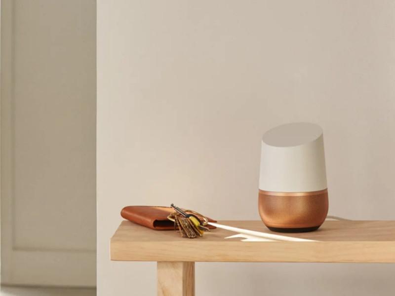 google home enceinte connectée et google mini