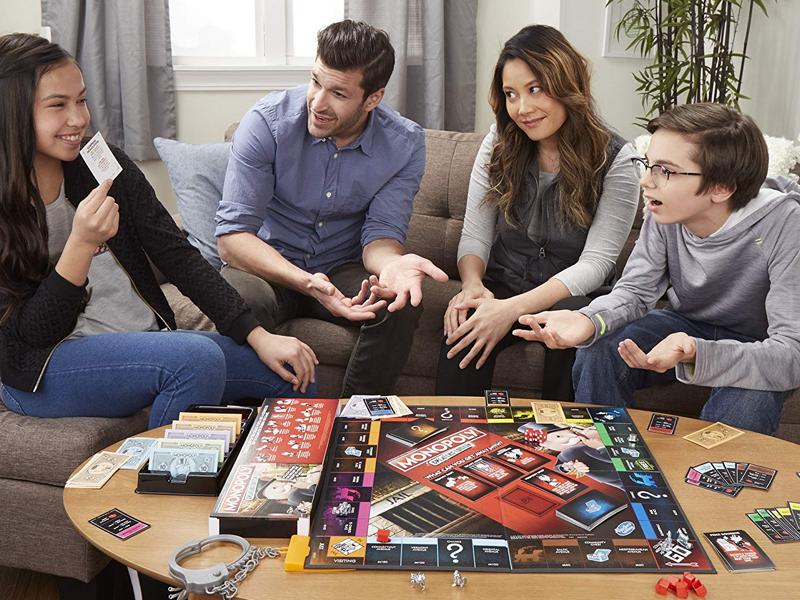 jeu de société Monopoly version tricheurs