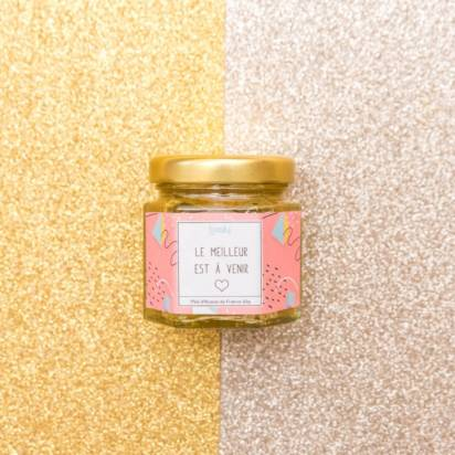 pot de miel à personnaliser beely