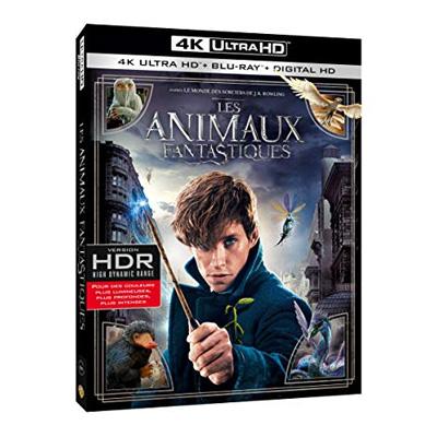 les animaux fantastiques en DVD blu ray kk hd