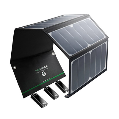 chargeur solaire rav power