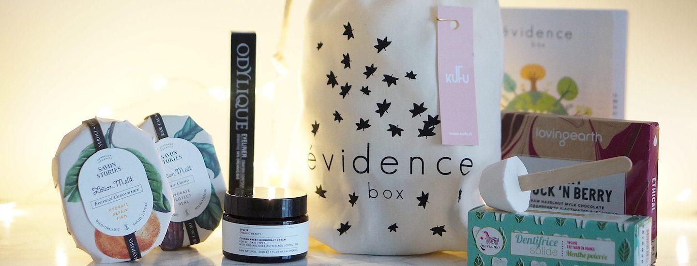 la box evidence box cosmetiques femme