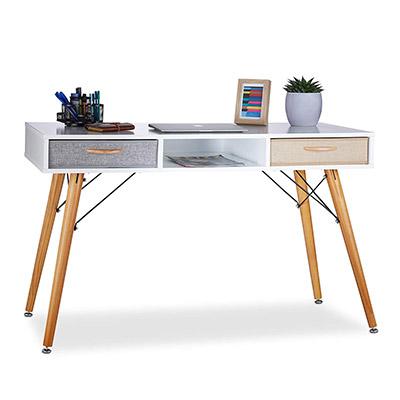 bureau scandinave en bois