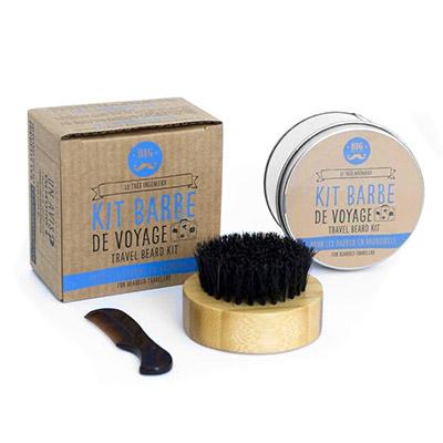kit barbe de voyage - big moustache