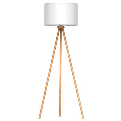 grande lampe blanche scandinave