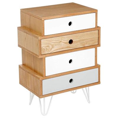 petit meuble scandinave bois