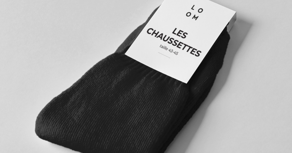 chaussettes made in france loom