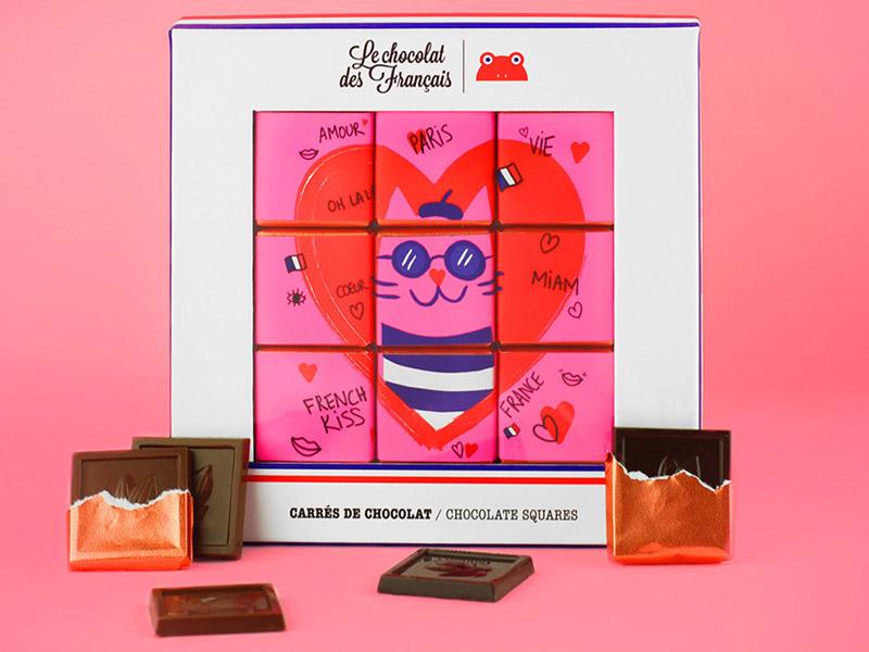 coffrets cadeau saint valentin le chocolat des français
