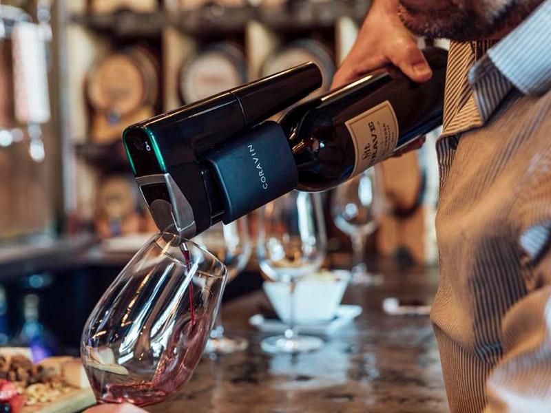 coravin dégustation de vin