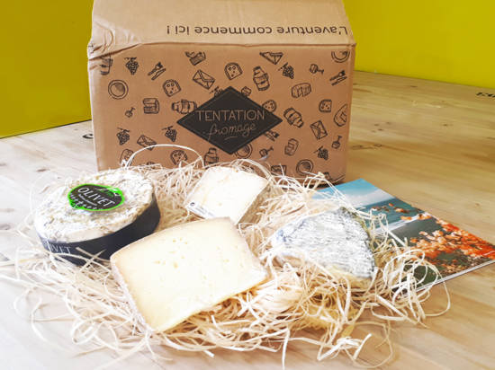 idee cadeau box tentation fromage