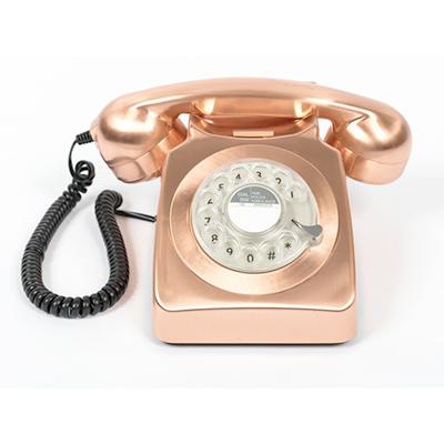 téléphone vintage rose