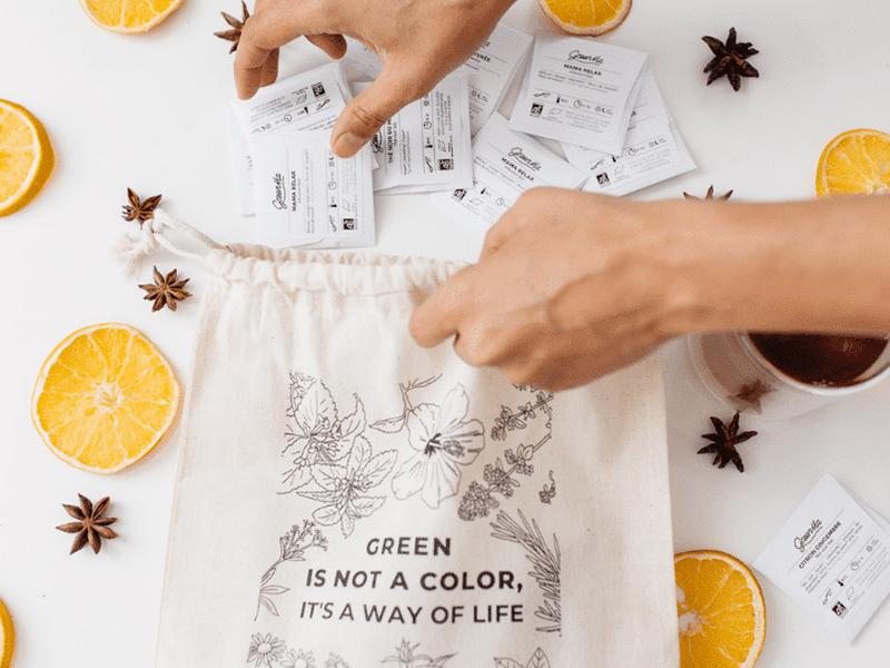 calendrier de l'avent de thés 2019